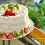 sponge cake with fresh fruit filling recipe 150x150 Mango Cheesecake with Sponge Base