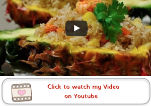 Thai Pineapple Fried Rice Youtube video Thai Pineapple Fried Rice