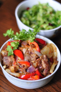 beefpotatostirfry e1368854983228 199x300 Beef And Potato Stir Fry