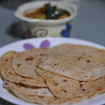 chapathi 150x150 Aloo Paratha Stuffed Indian Flatbread with Cooked Potato Filling