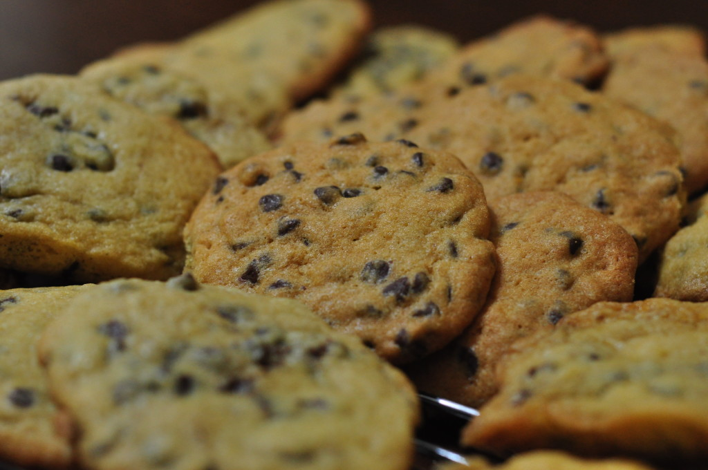 cookies1 1024x680 The Best Chocolate Chip Cookie Recipe !