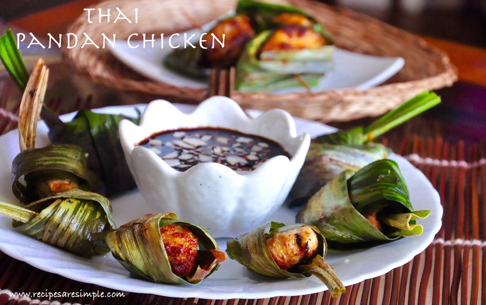 Thai Pandan Chicken Recipe