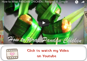 how to wrap pandan chicken youtube video Thai Pandan Chicken Recipe Gai Hor Bai Toey [ไก่ห่อใบเตย]