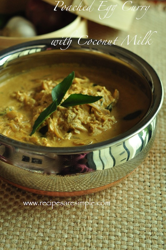 Egg Curry with Coconut Milk or Ground Coconut-Simple ...