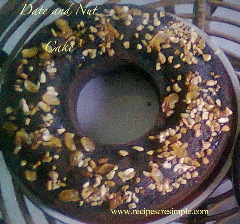 dateandnutshemmi Date and Nut Cake Moist and Delicious