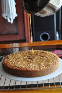 datenutcake1 199x300 Date and Nut Cake Moist and Delicious