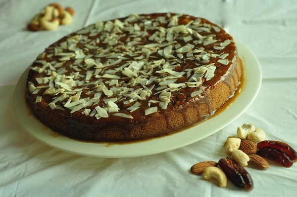 datenutcake4 Date and Nut Cake Moist and Delicious