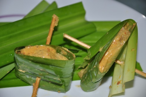 pandanchickmarinade Thai Pandan Chicken Recipe Gai Hor Bai Toey [ไก่ห่อใบเตย]