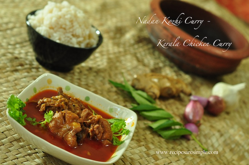 NadanKozhiCurry1 South Indian Chicken Curry