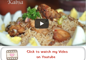 kabsa youtube Kabsa Recipe for Arabian Chicken and Fragrant Rice