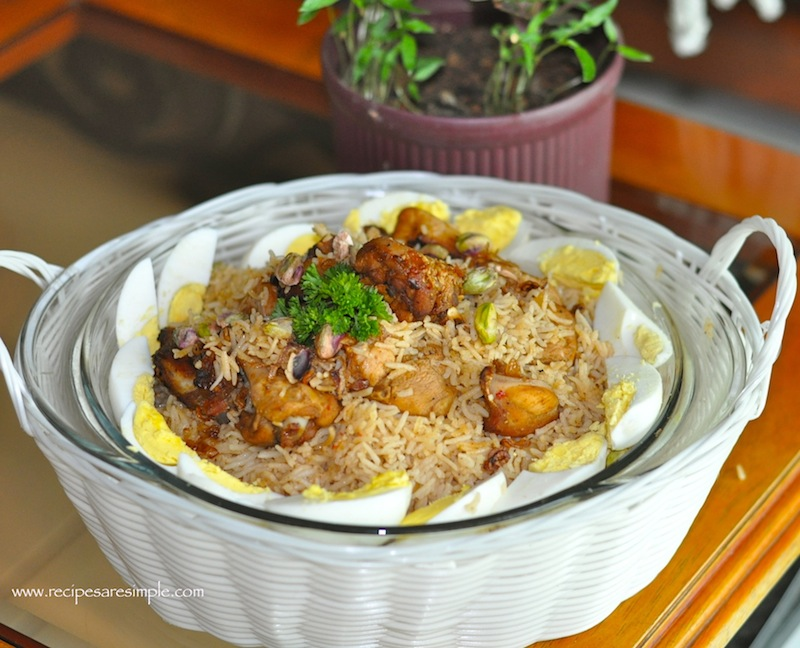 Kabsa Recipe For Arabian Chicken And Fragrant Rice