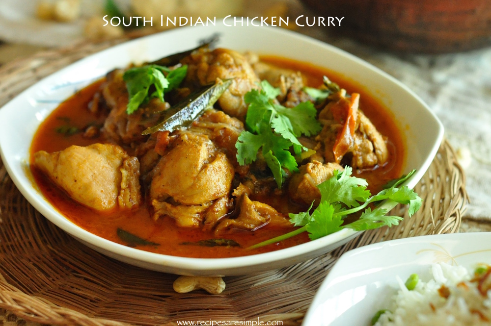 south Indian Chicken Curry with video