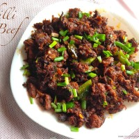chili beef fry 200x200 Beef & Mutton Recipes