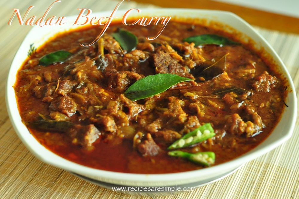 Nadan beef curry traditional beef curry from kerala recipes r nadan beef curry forumfinder Gallery