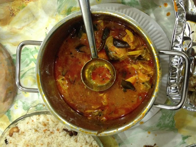 Recipes R Simple Red Fish Curry tried by Arya Manu