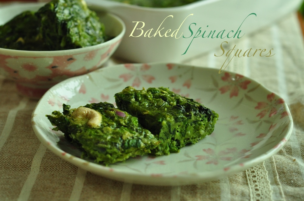 spinach baked