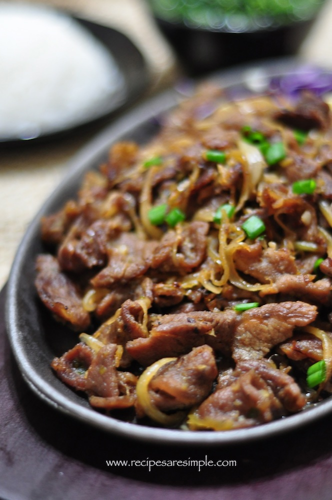 Korean Beef - Bulgogi Made in Cast Iron Wok / Skillet - Recipes