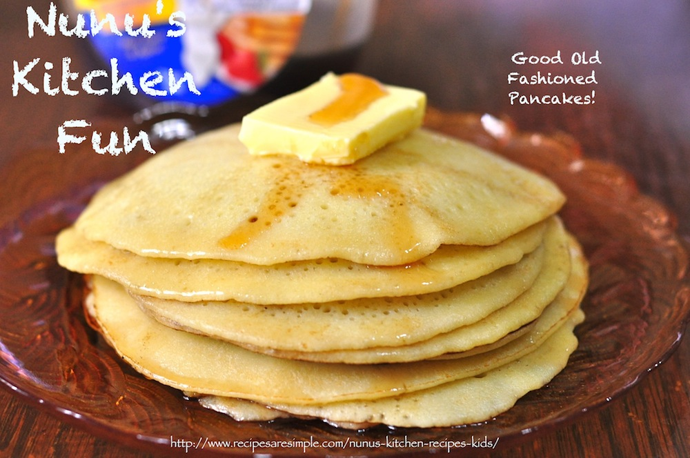 old fashioned pancakes recipe