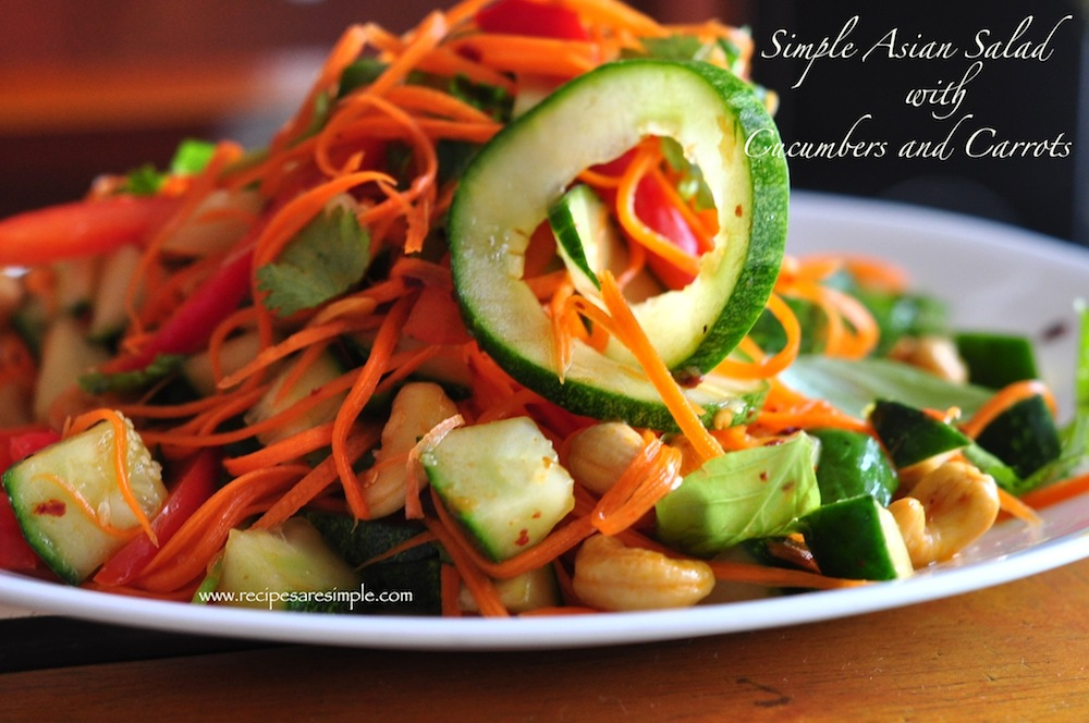 carrot and cucumber salad