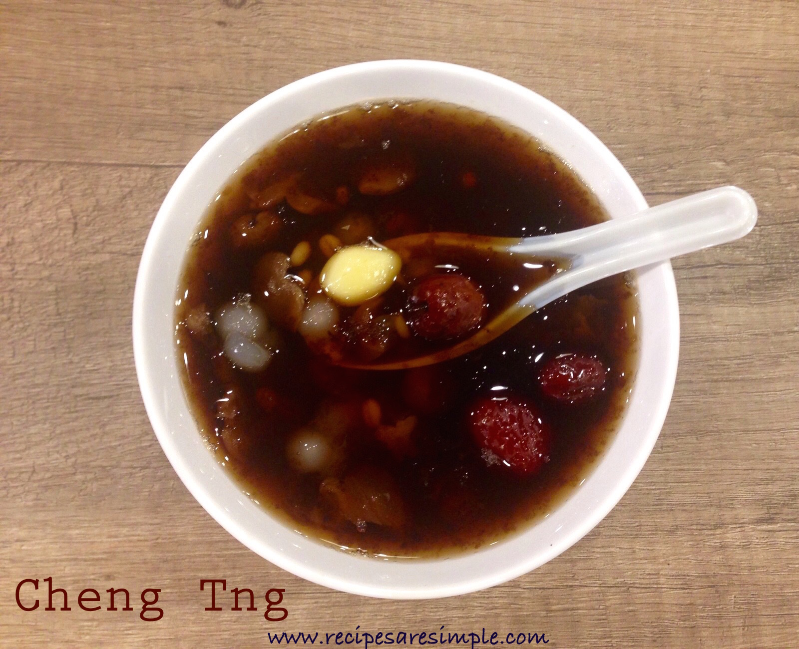 cheng tng1 Cheng Tng Recipe Healthy Asian Dessert!