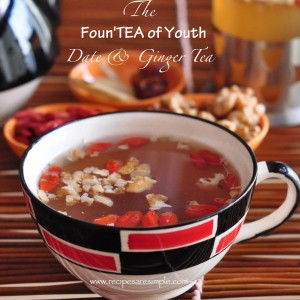 date and ginger tea 300x300 Drinks and Beverages
