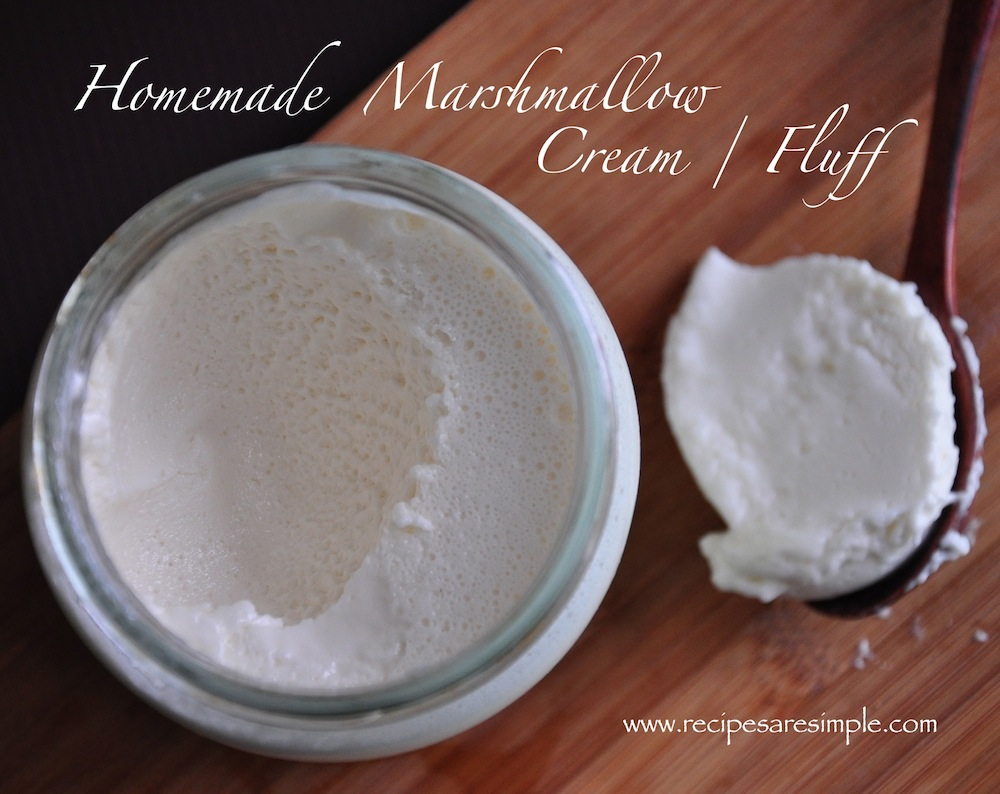 marshmallow fluff Marshmallow Fluff / Marshmallow Cream   How to make it.