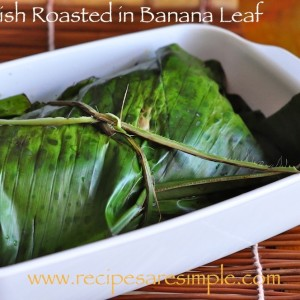 fish roasted in banana leaf 300x300 Baked Dishes