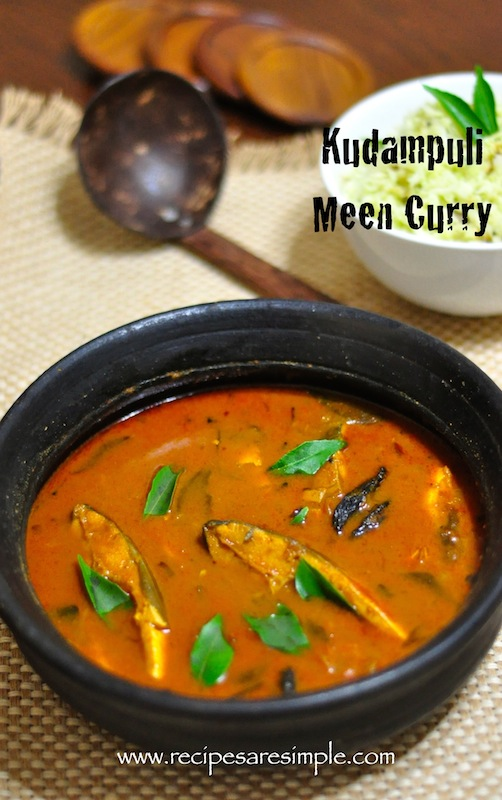 kudampuli meen curry Kudampuli Meen Curry Kerala Fish Curry with Gambooge