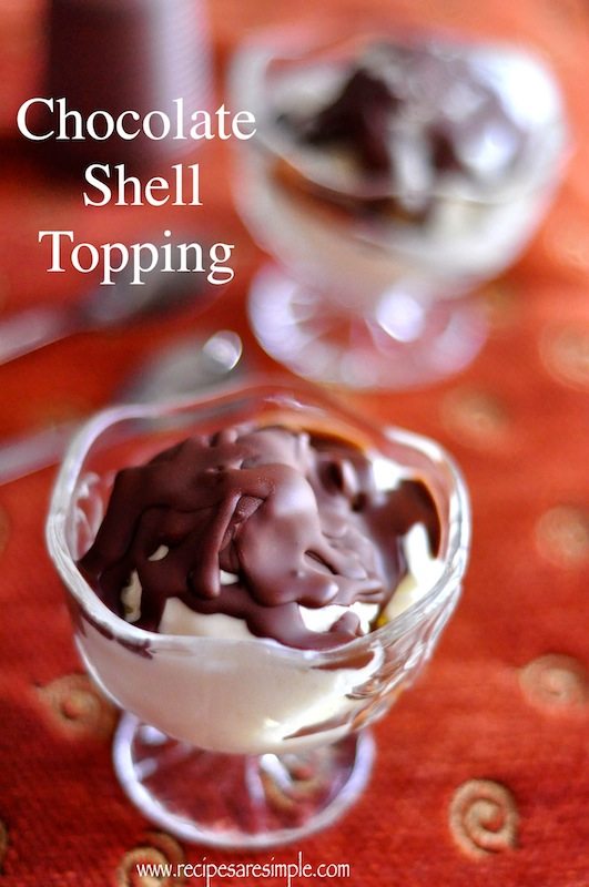 shell topping recipe