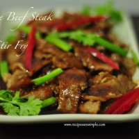 chinese beef steak 200x200 Beef & Mutton Recipes
