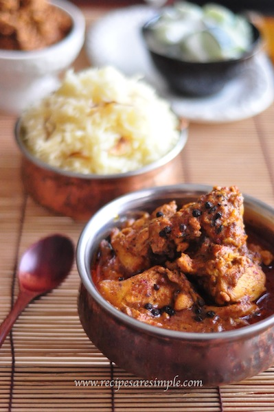 pepper chicken chettinad recipe Pepper Chicken Chettinad