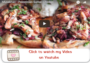 musakhan youtube video 300x210 MUSAKHAN   Palestinian Sumac Chicken with Caramelized Onion and Taboon Bread