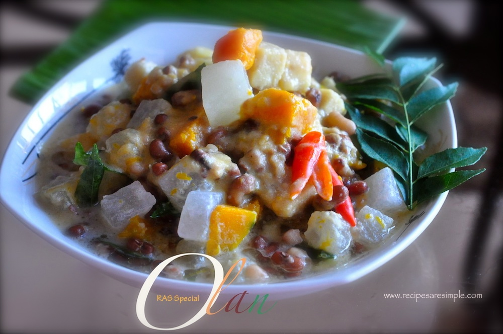 olan recipe Special Olan Recipe Stewed Brown Cow Peas and Vegetable in Coconut Milk