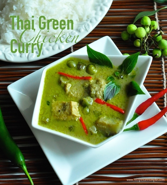 thai green curry Thai Green Curry Chicken แกงเขียวหวานไก่ Green Curry Paste