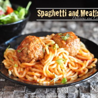 spaghetti and meatballs 200x200 Pasta and Noodles