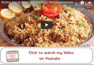 mutton mandi youtube video 300x210 Mutton Mandi Rice   Arabian Fragrant Rice Cooked with Mutton