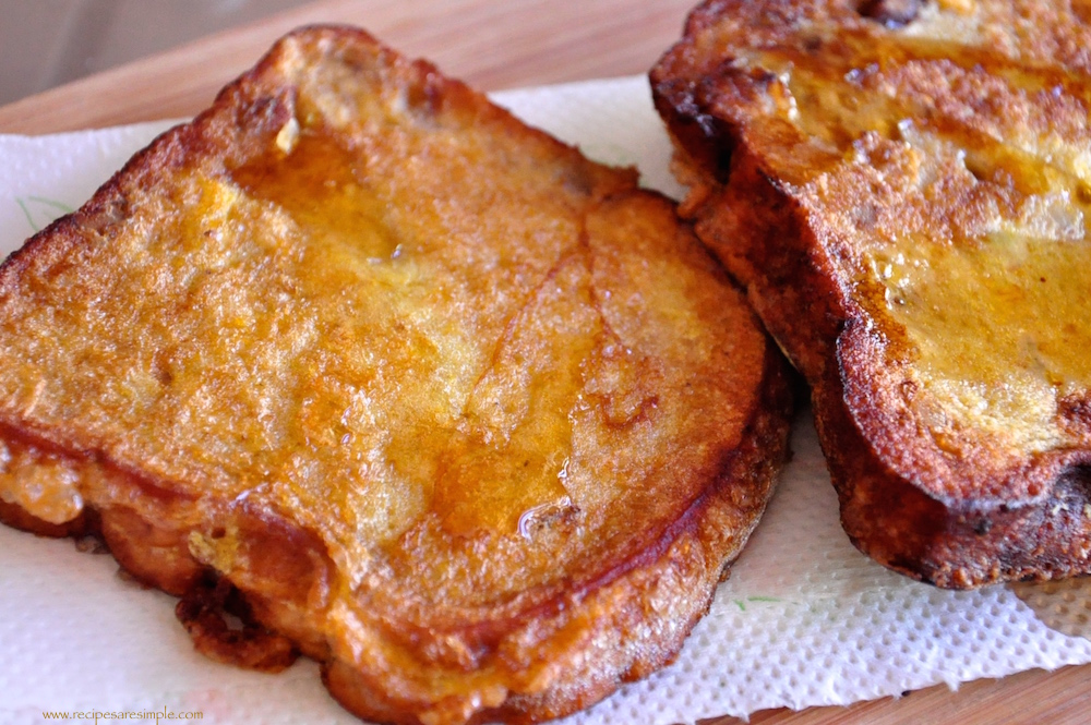 banana bread french toast recipe French Toast Recipes in a few different styles