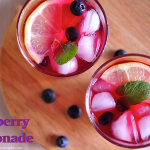 blueberry lemonade 300x300 Drinks and Beverages