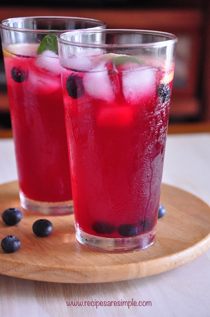blueberry lemonade recipe Blueberry Lemonade