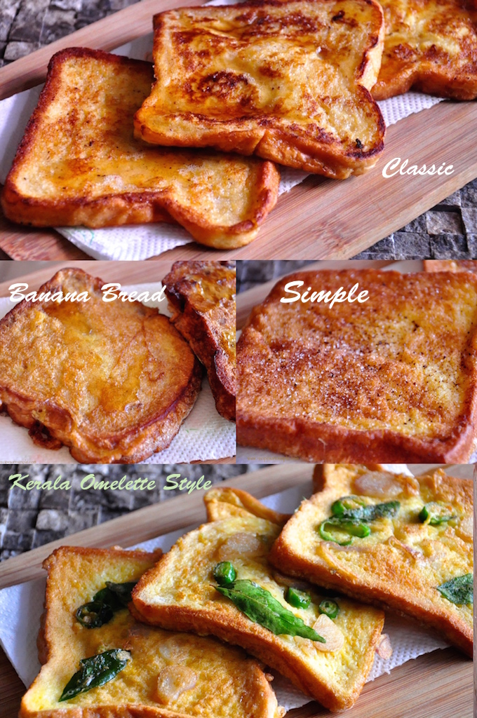 french toast recipes French Toast Recipes in a few different styles