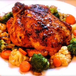 roasted black pepper chicken recipe 300x300 Baked Dishes