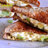 egg salad sandwich 200x200 Salads and Starters