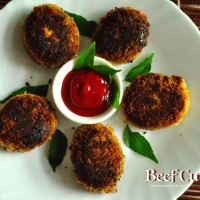 kerala beef cutlet recipe 200x200 Beef & Mutton Recipes