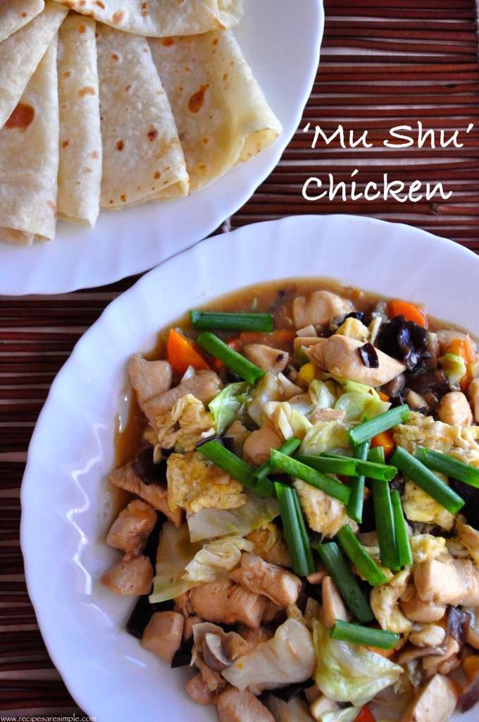 mu shu chicken e1431602238738 Mu Shu Chicken & Chinese Pancakes