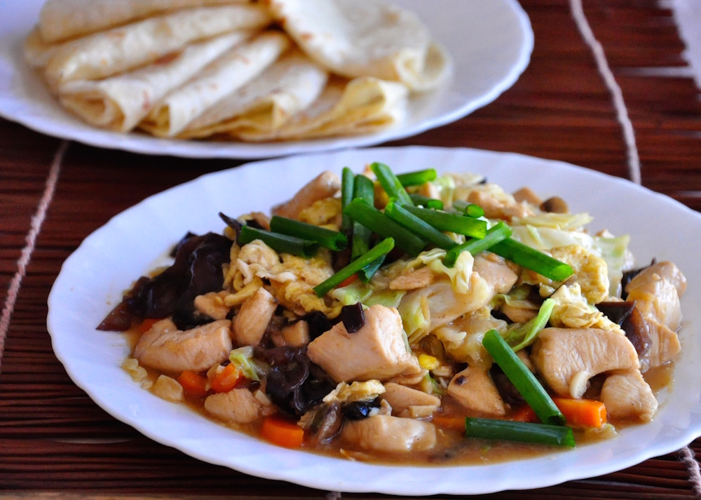 mu shu chicken recipe with pancake