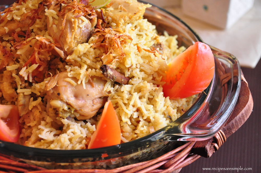 arabian chicken biryani in pressure cooker Arabian Biryani Pressure Cooker Chicken Biryani