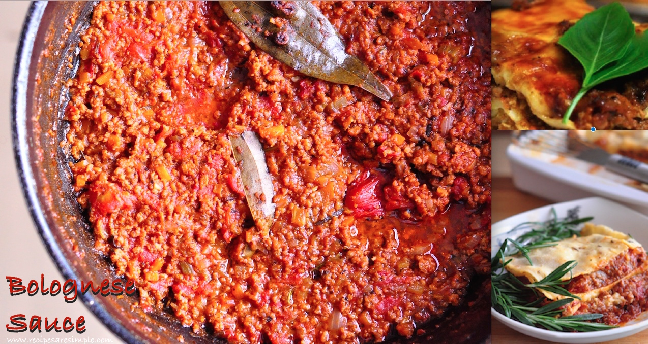 bolognese sauce How to make Bolognese Sauce ( step by step guide with .gifs)