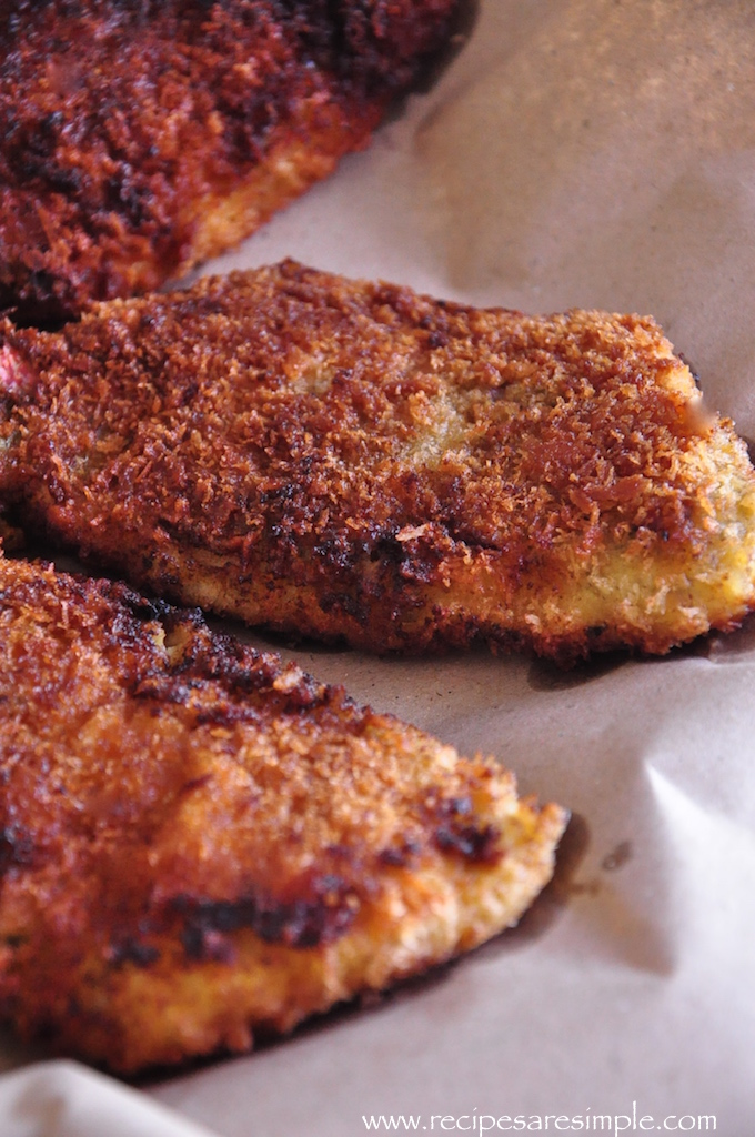 crumbed fish and chips recipe Crumbed Fish and Chips with Quickie Tartar Sauce