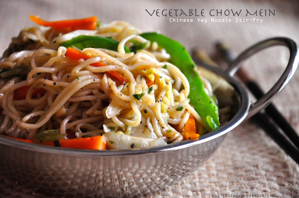 vegetable chow mein Vegetable Chow Mein Chinese Veg Noodle Stir Fry