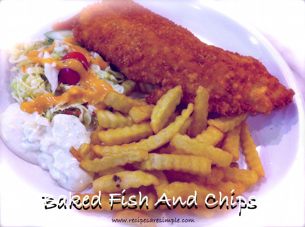 Baked dishes savory recipes archives recipes 39 r 39 simple for Baked fish and chips
